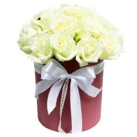 """Коробка цветов """"Тающий закат"""""""