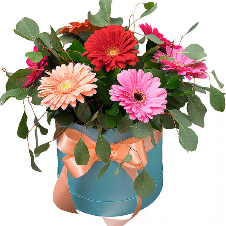 """Коробка цветов """"Воздушный поцелуй"""""""