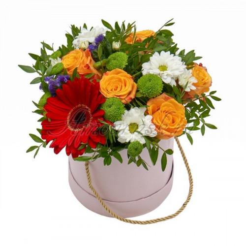 """Коробка цветов """"Весенний луг"""""""