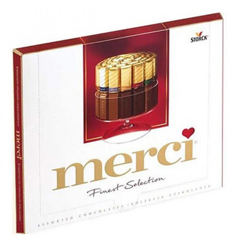 """набор конфет """"Merci"""" 250 г."""