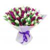 Букет из 101 тюльпана + упаковка